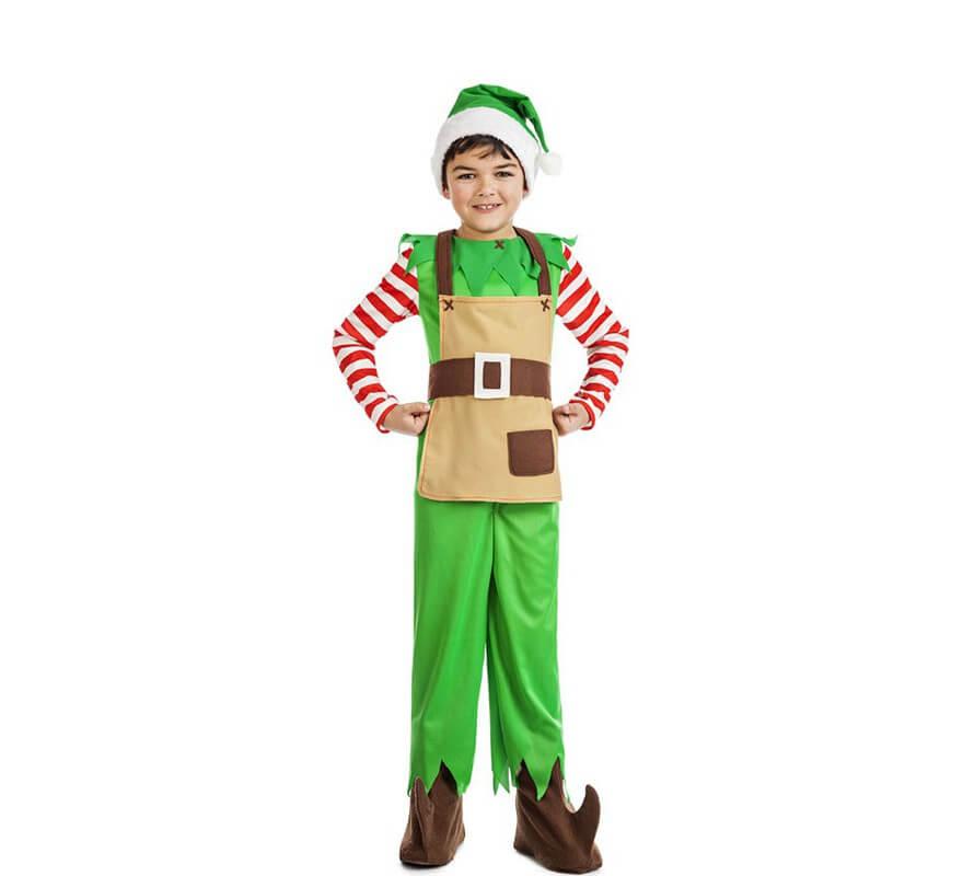 Disfraz de elfo navidad para ni o - Disfraces para navidad ninos ...