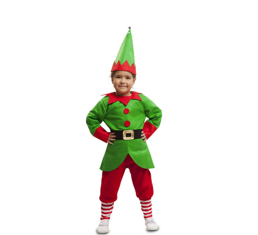 Disfraz de elfo navidad para ni os - Disfraces infantiles navidad ...