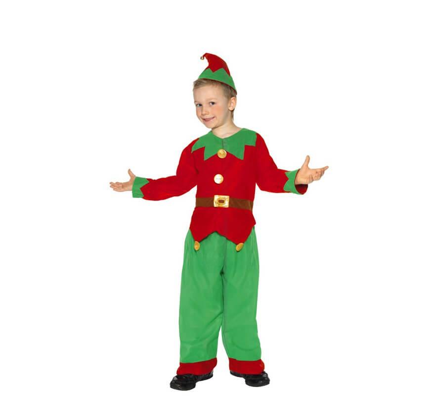 Disfraz de elfo o elfa para ni os - Disfraz elfo nino ...