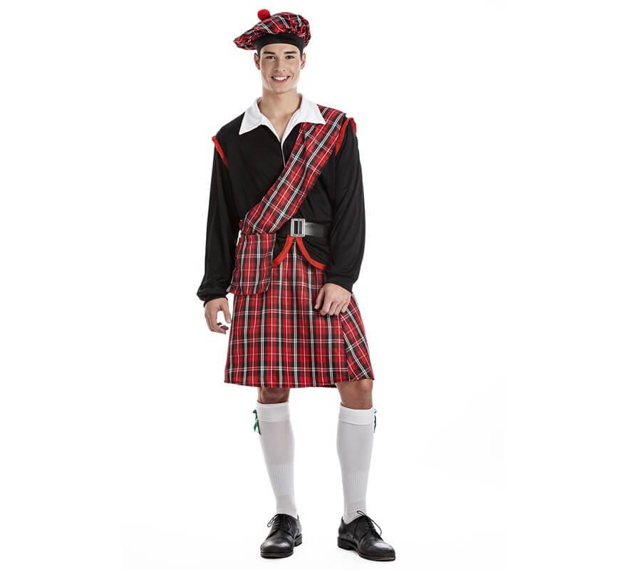 Disfraz de Escocés para hombre f9b8630d251