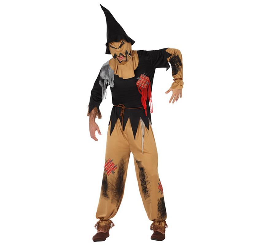Disfraz de Espantapjaros Siniestro para Halloween
