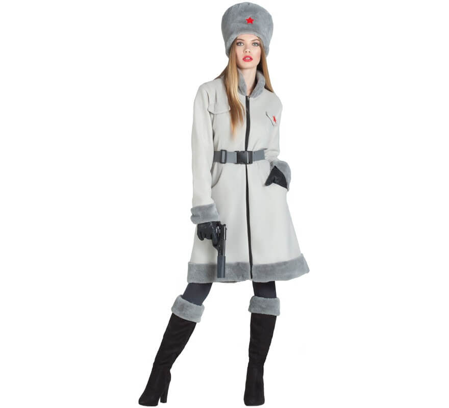 9bc2132da Disfraz de Espía Rusa para mujer