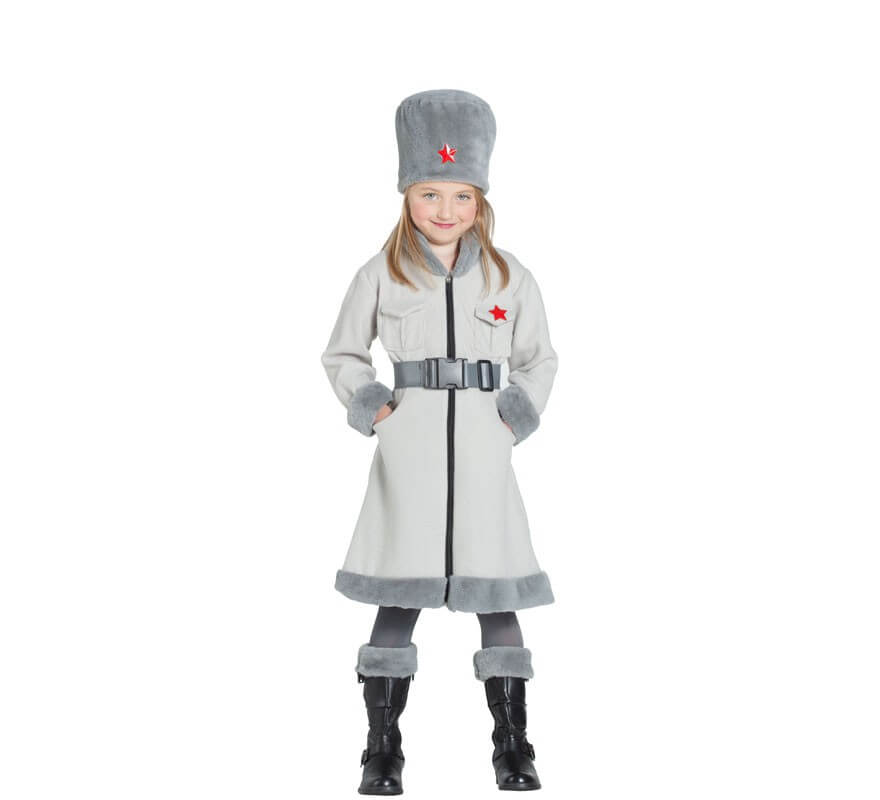 169345dd5 Disfraz de Espía Rusa para niña