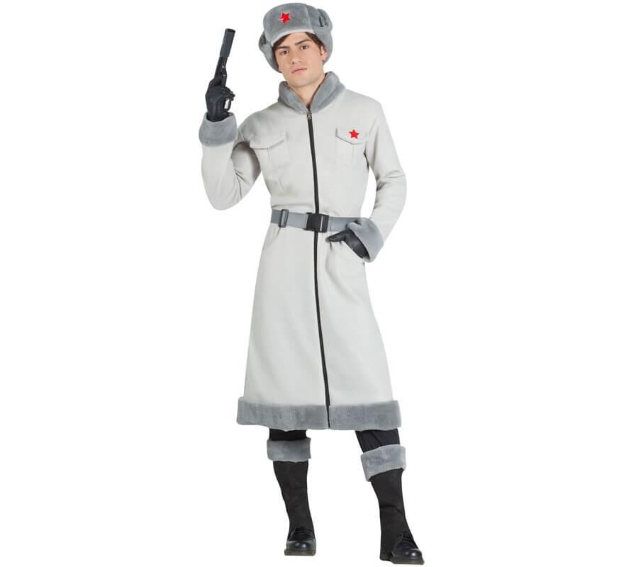 77d4e3cd1 Disfraz de Espía Ruso para hombre