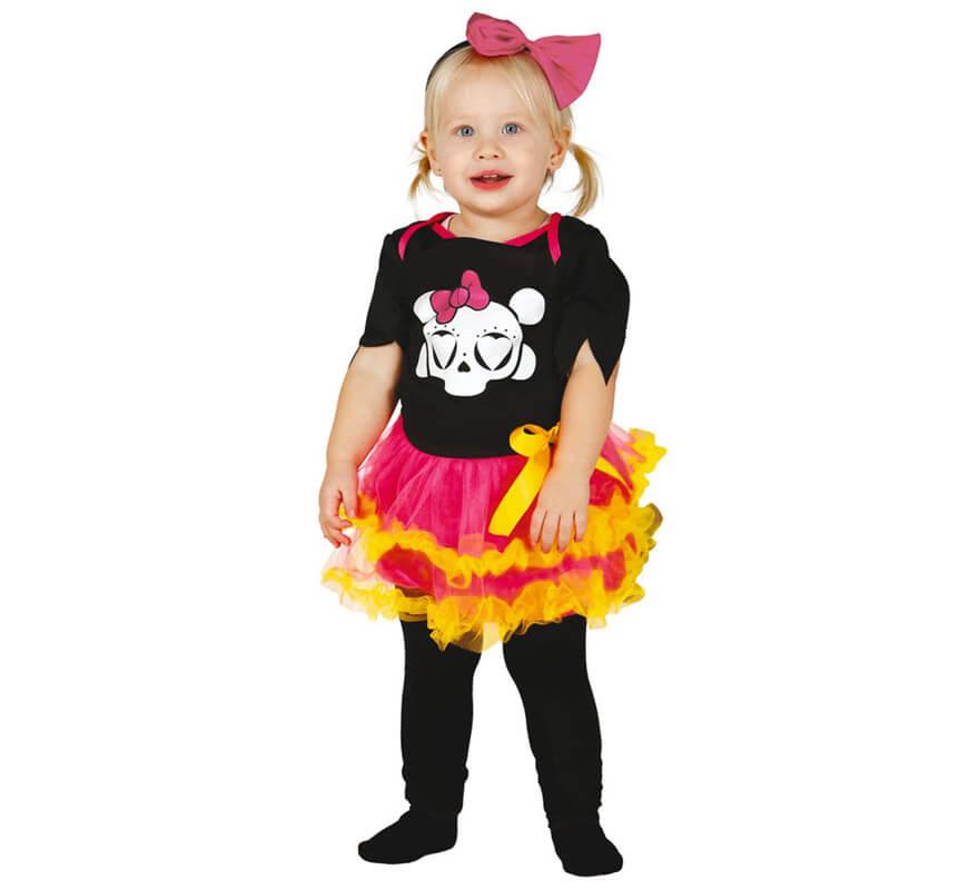 Disfraz de esqueleto para beb s y ni os para halloween - Disfraz halloween bebe 1 ano ...