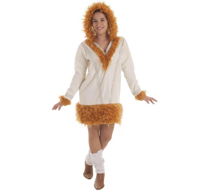 1c5fda1e1 Disfraz de Esquimal Nui para mujer