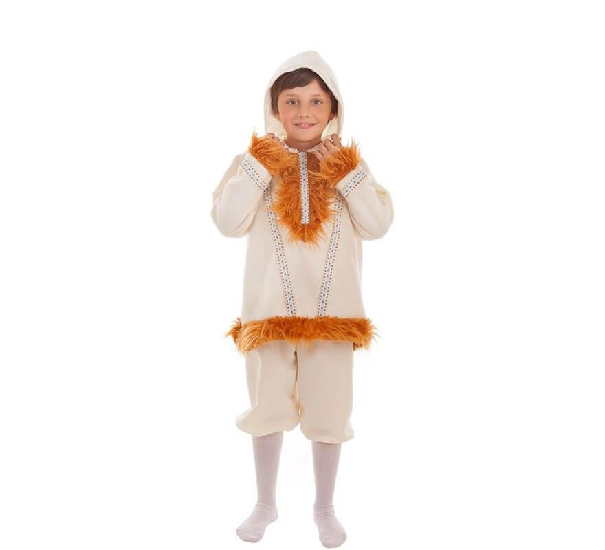 fe3430340 Disfraz de Esquimal Nui para niño