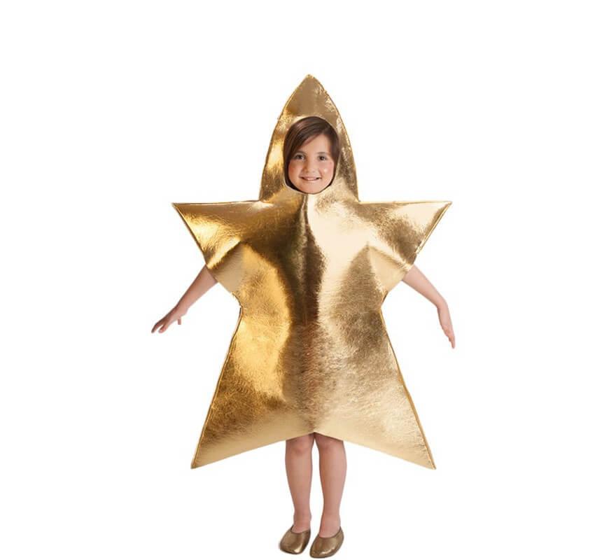 Disfraz de estrella de navidad para ni a de 5 a 7 a os - Disfraces navidenos para ninas ...