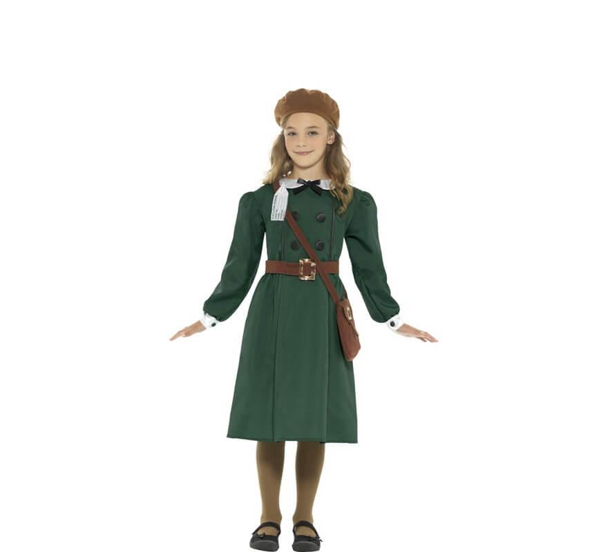 221d1e37e Disfraz de Estudiante Años 40 para niña
