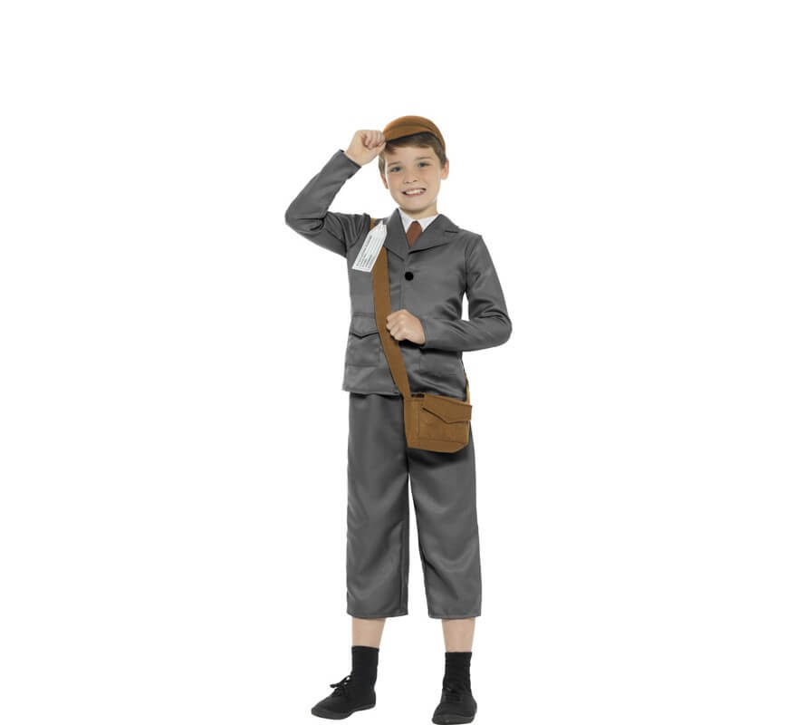 415519902 Disfraz de Estudiante Años 40 para niño