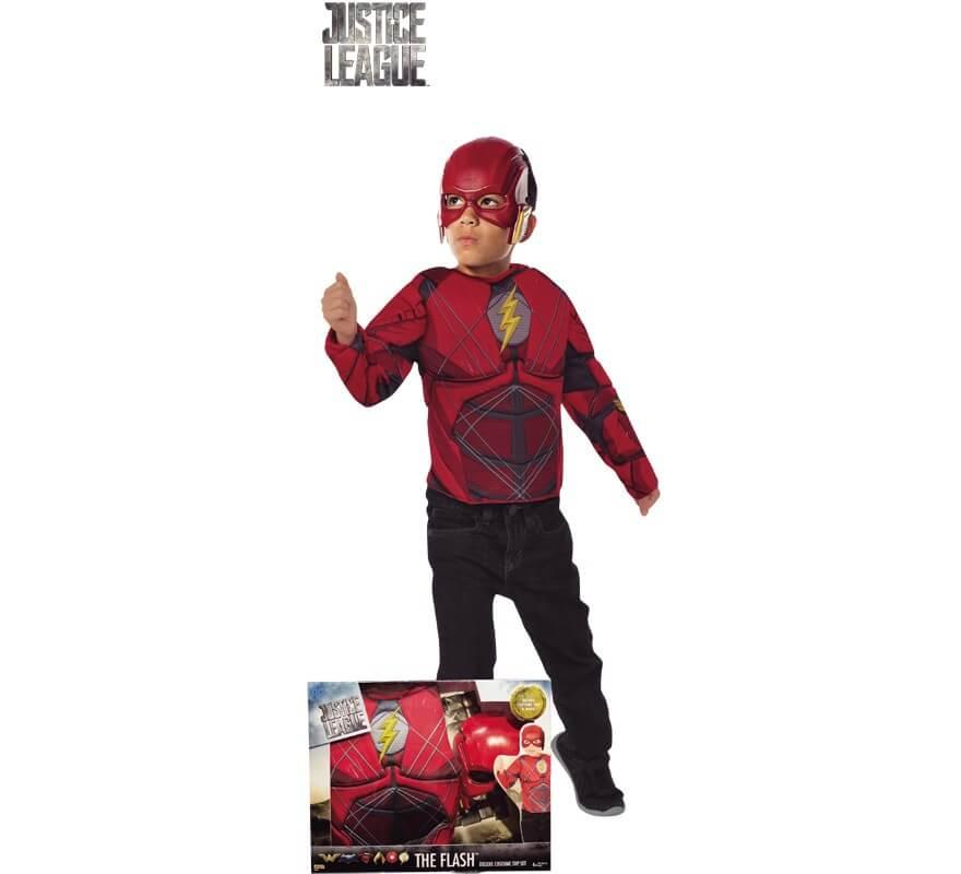 Disfraz de Flash Justice League con Músculos para niño 06ad7feffc3