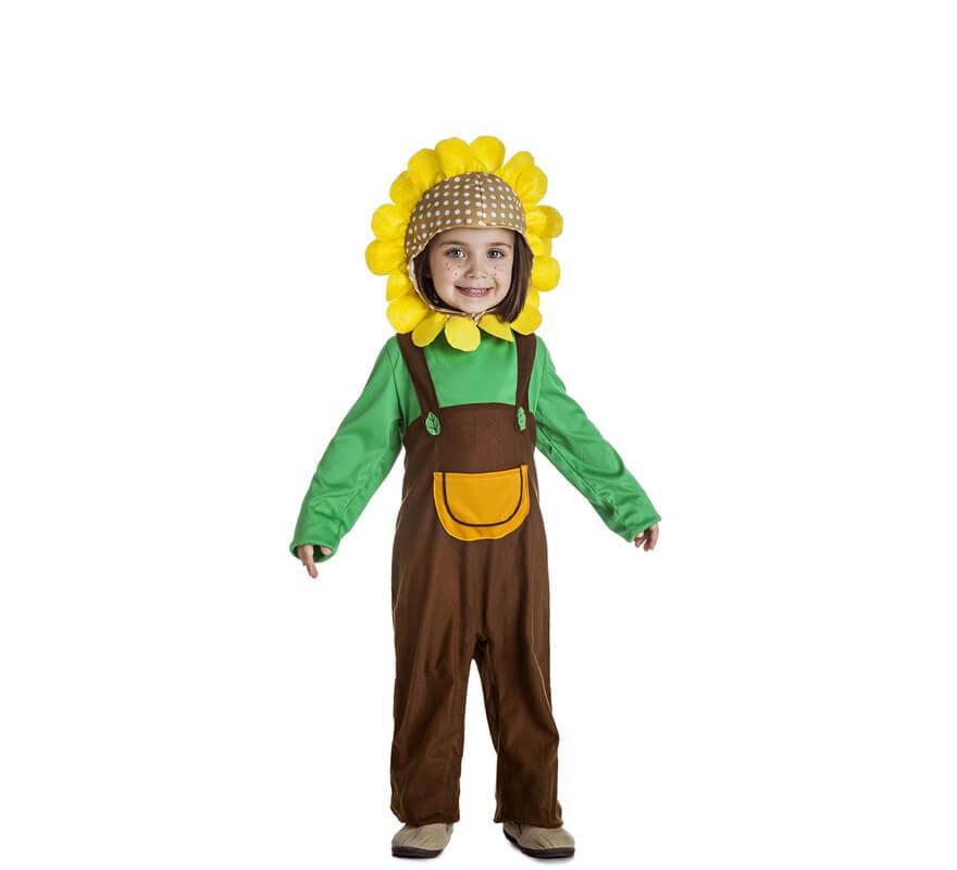 Disfraz de Flor Girasol para niña