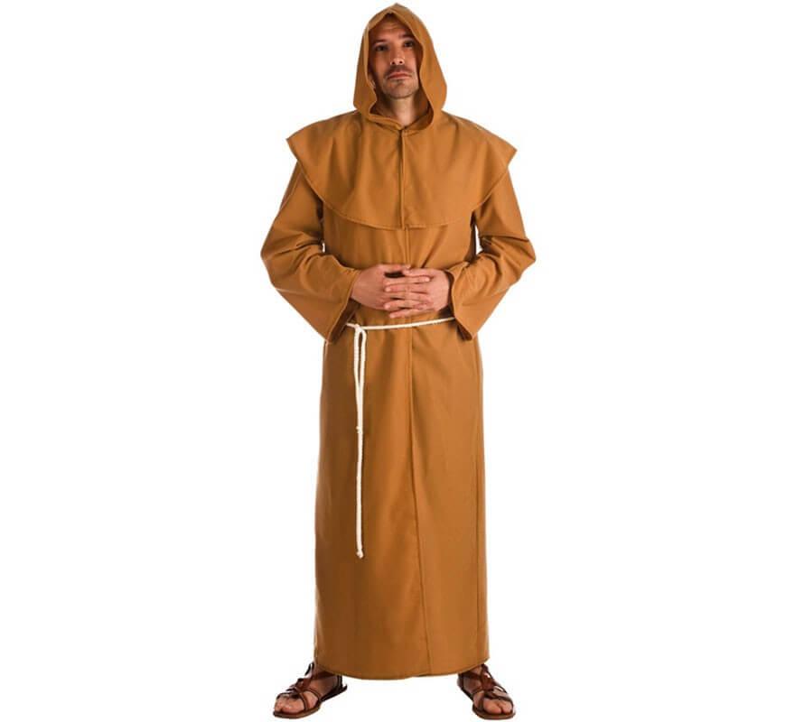 Disfraz Hombre De Marrón Para Fraile v8NwOnm0