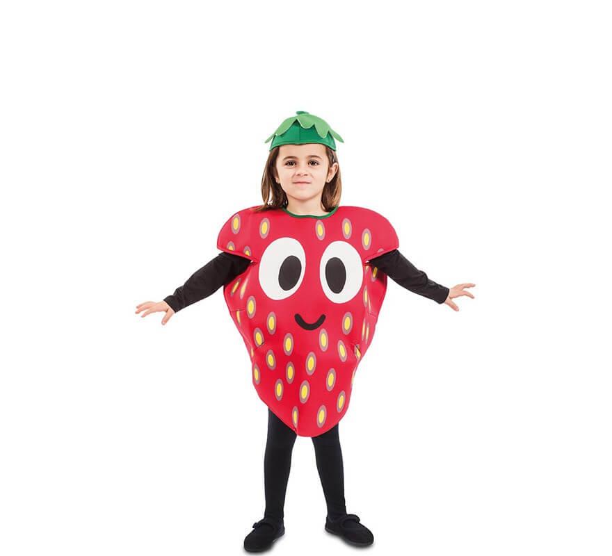 15af422df Disfraz de Fresa para niños y bebé