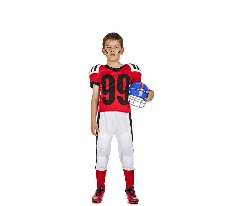 6b0a2d7ce Disfraz de Fútbol Americano para niño