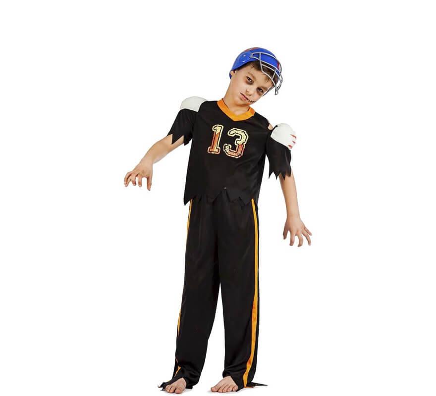 foto de Disfraz de Futbolista Americano zombie para niño