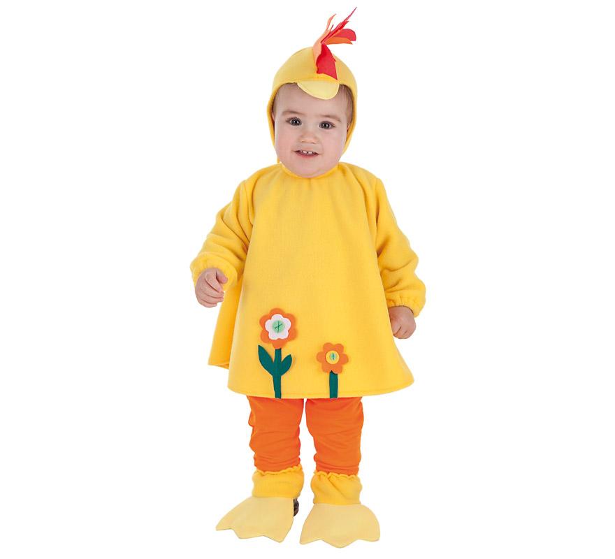 Disfraz de gallina loca para beb - Como hacer un disfraz de bebe ...