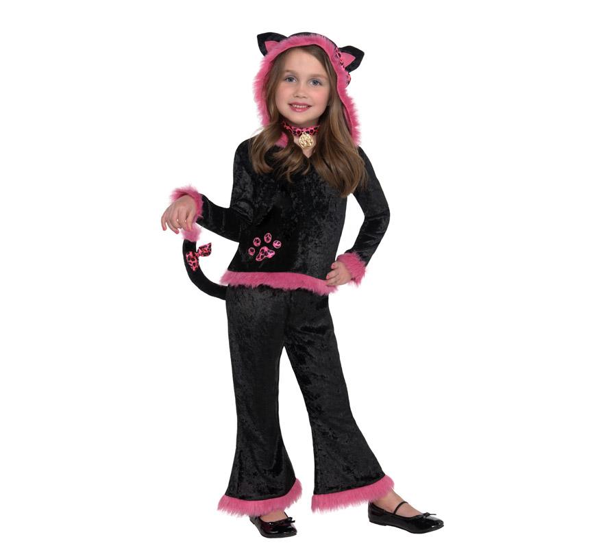 Disfraz de gatita adorable para ni as - Disfraces de gatitas para nina ...