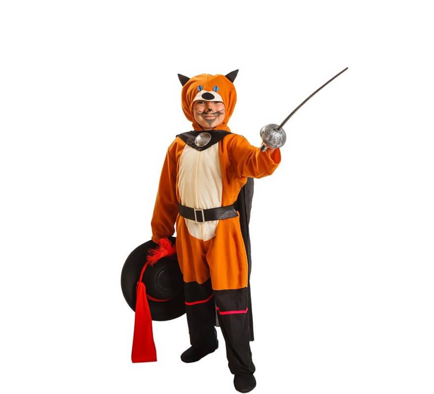 Disfraz de gato con botas para ni o - Disfraz casero mosquetero ...