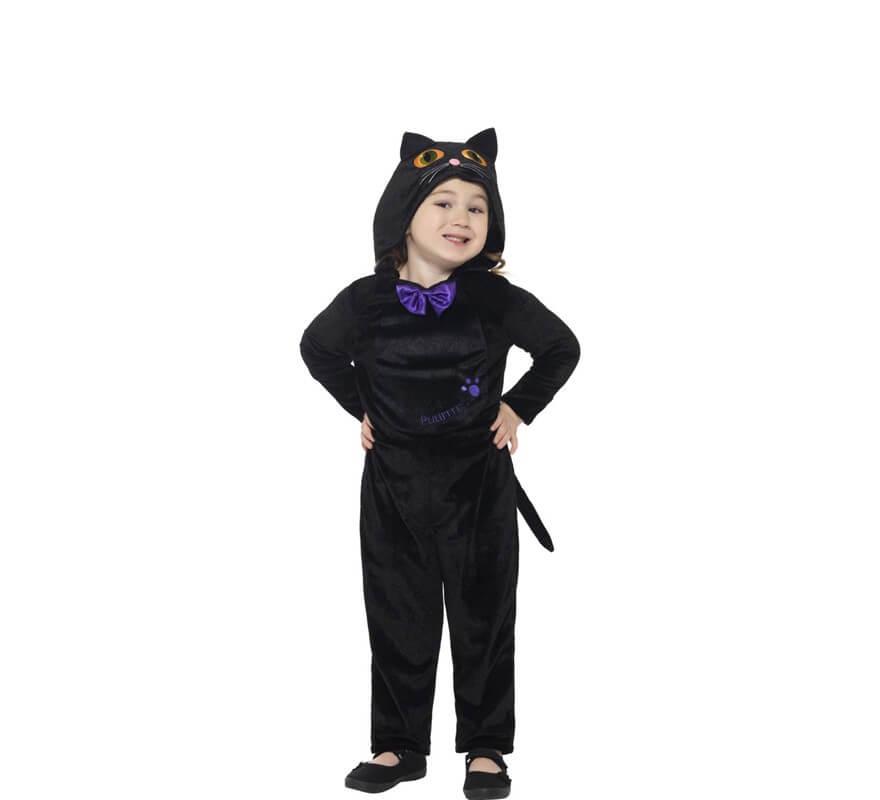 2e7855c1c Disfraz de Gato con Pajarita para niños
