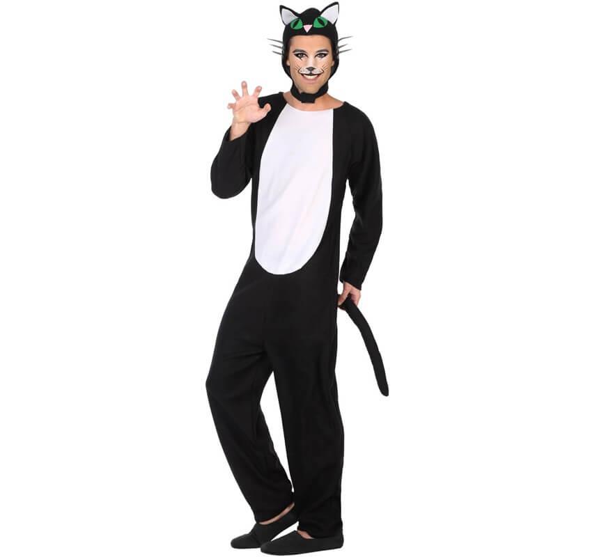 Disfraz de gato negro para hombre - Disfraces de gatos para ninos ...