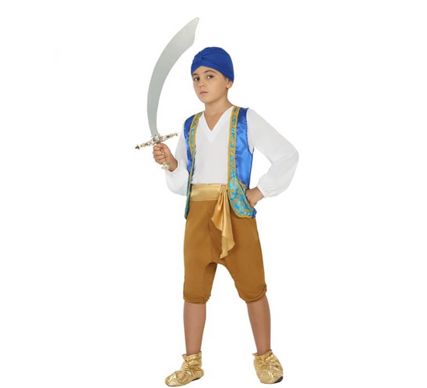 99c393a77 Disfraz de Genio azul para niño
