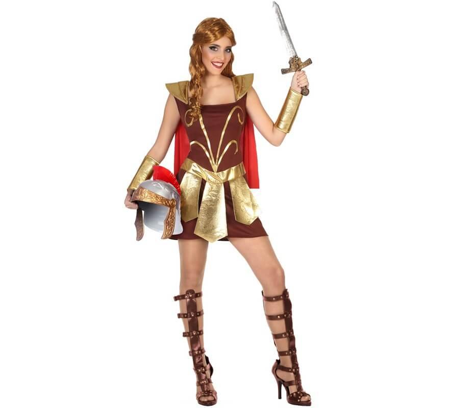 Para Disfraz Gladiadora Romana De Mujer n08OPwkX