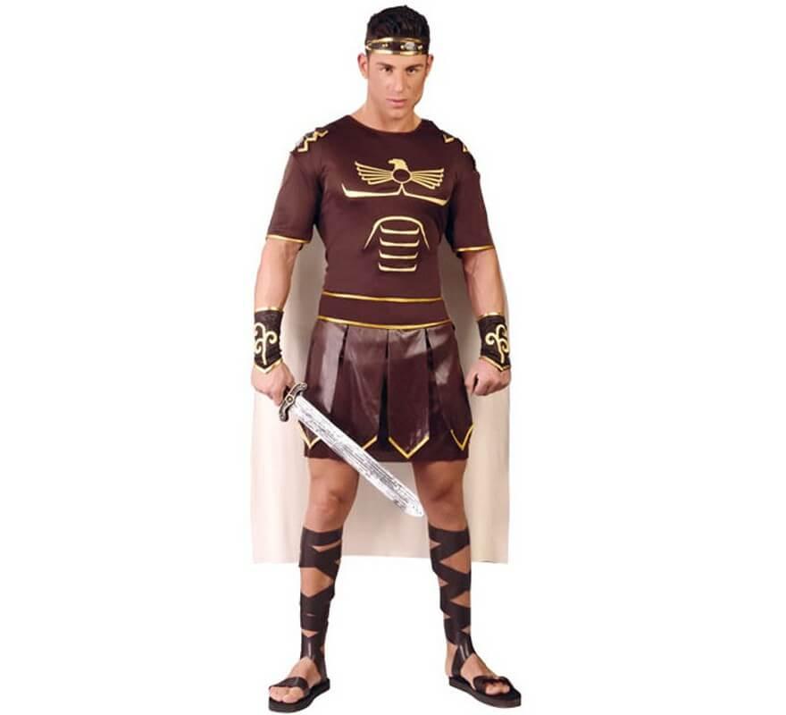 Para Disfraz De Marrón Gladius Hombre D2H9EI