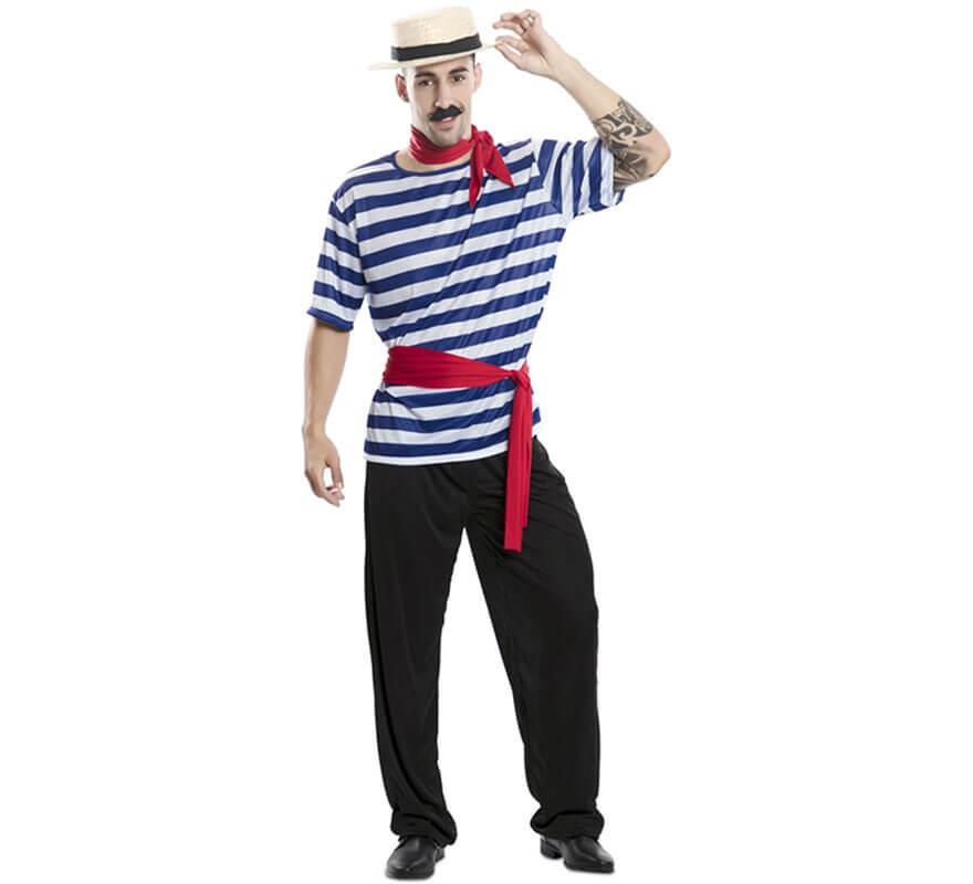 Disfraz de Gondolero para hombre