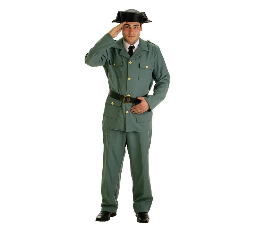 Disfraz Civil Para Guardia De Hombre SpqMzUVG