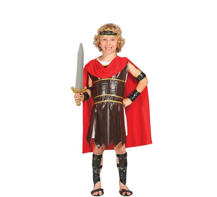 4a140a55f Disfraz de Guerrero Romano para niño