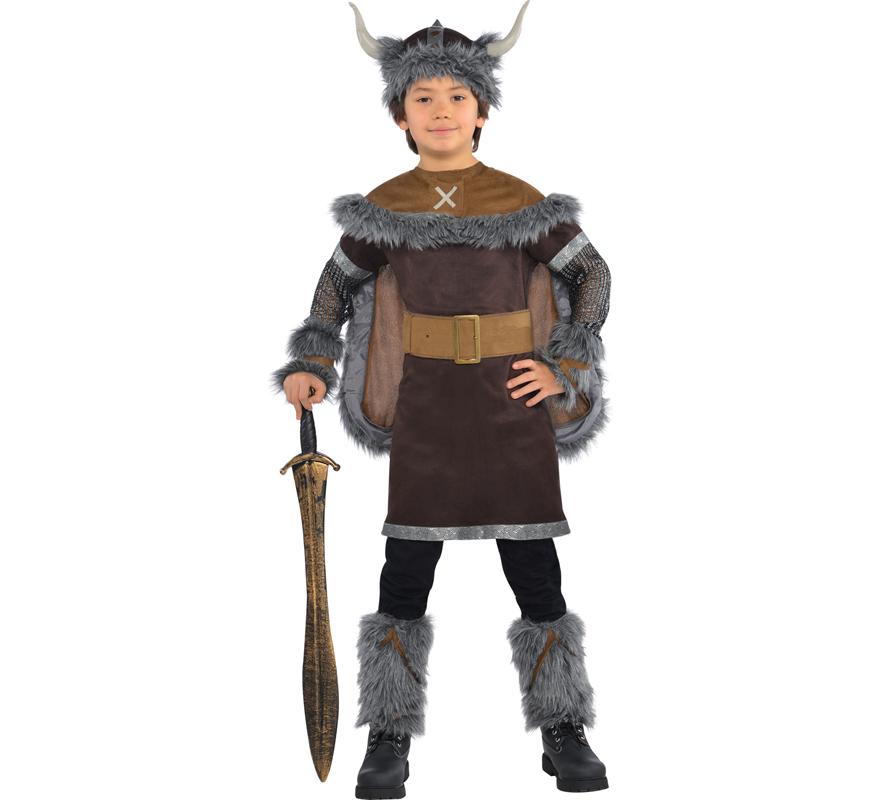 D guisement de guerrier viking barbare gar ons et ados - Deguisement en o ...