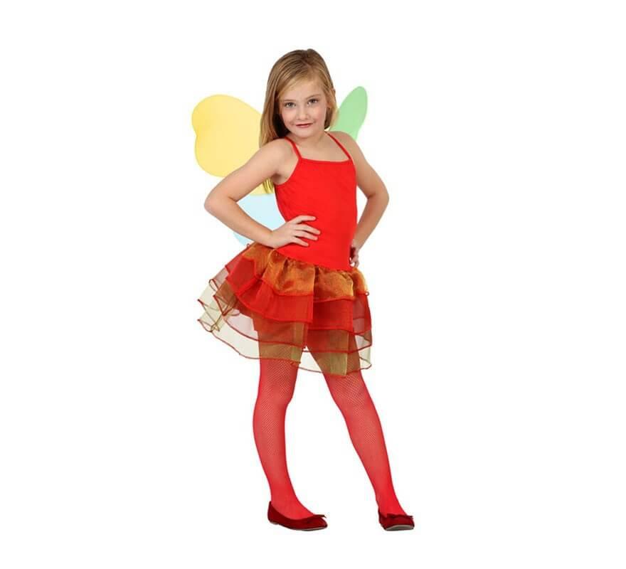 D guisement de f e automne rouge pour enfants plusieurs tailles - Taille des rosiers automne ...