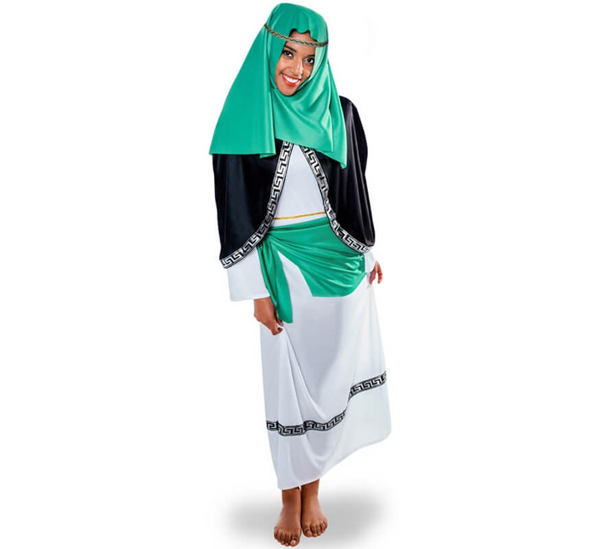Verde Hebrea Disfraz Hebrea Verde De Verde De Disfraz De Disfraz Hebrea Disfraz EARFgq