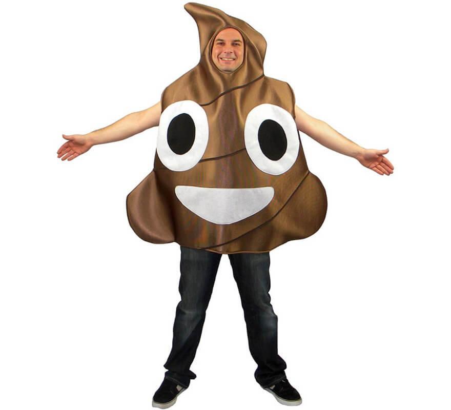ef1eedf4242 Disfraz de Icono Caca marrón de Whasa para adultos