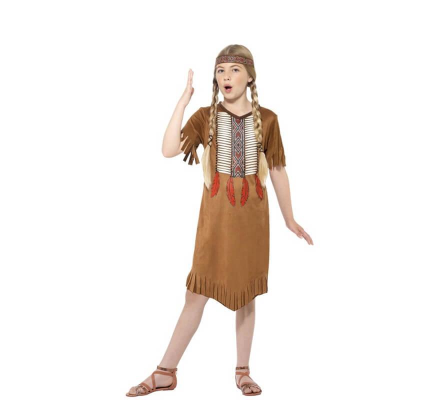 Disfraz De India Americana Para Nina - Disfraz-india-americana