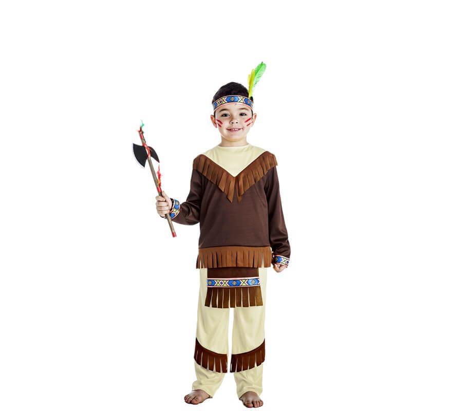 befc0a80a93fc Disfraz de Indio Apache para niño