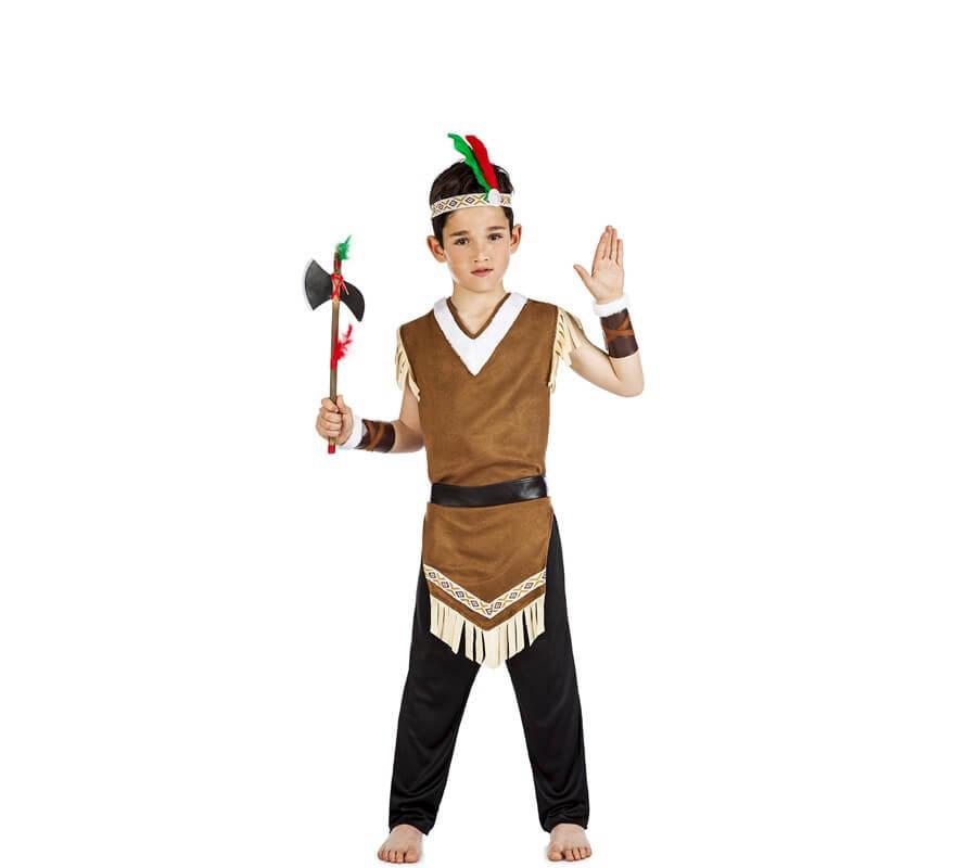91bbeaa2a025e Disfraz de Indio Mohicano para niño