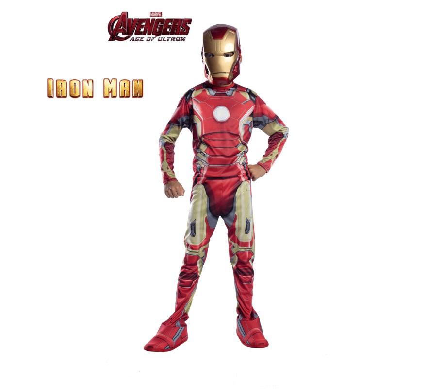bbd87416329 Disfraz de Iron Man de los Vengadores 2 para niños 00883028046126