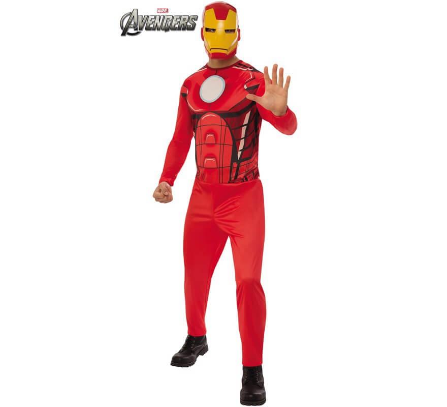 Avengers Pour Homme De Déguisement Iron Man Nn0wPk8OX