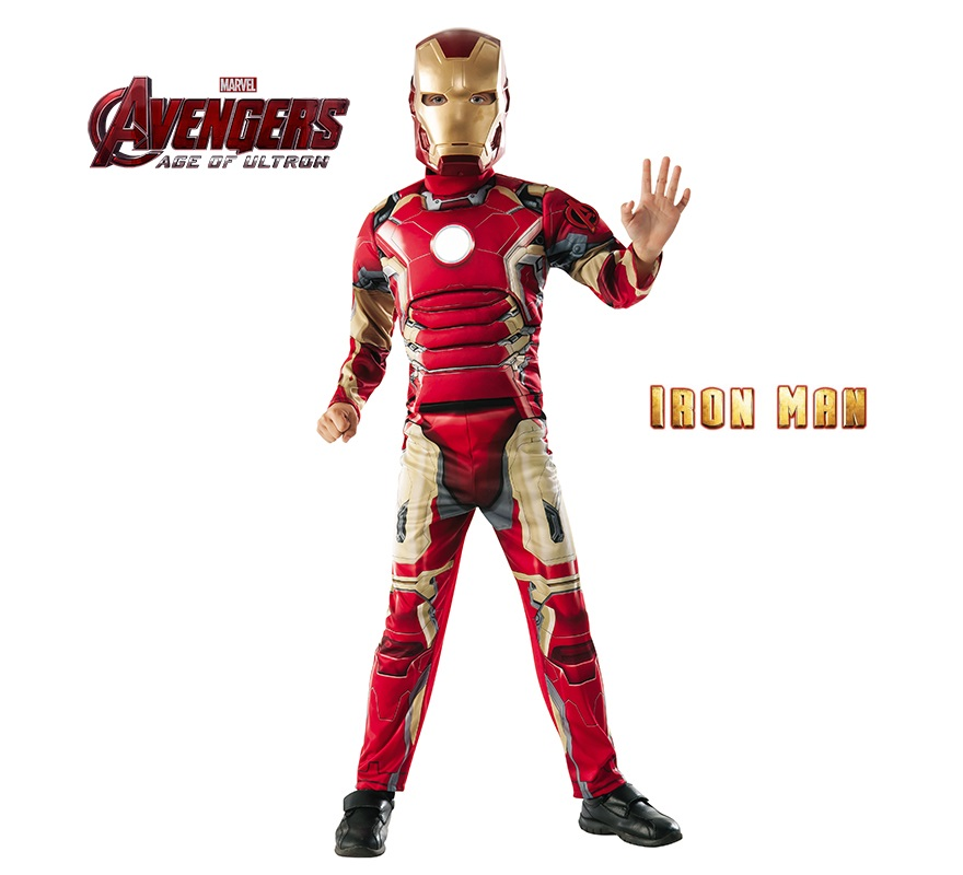 d guisement iron man deluxe the avengers 2 pour enfants. Black Bedroom Furniture Sets. Home Design Ideas