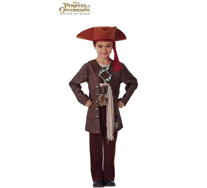 Disfraz de Jack Sparrow Piratas del Caribe para niño 11103c7695e