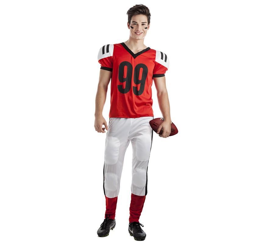 Disfraz de Jugador de Rugby para hombre 63c1fa12ce3