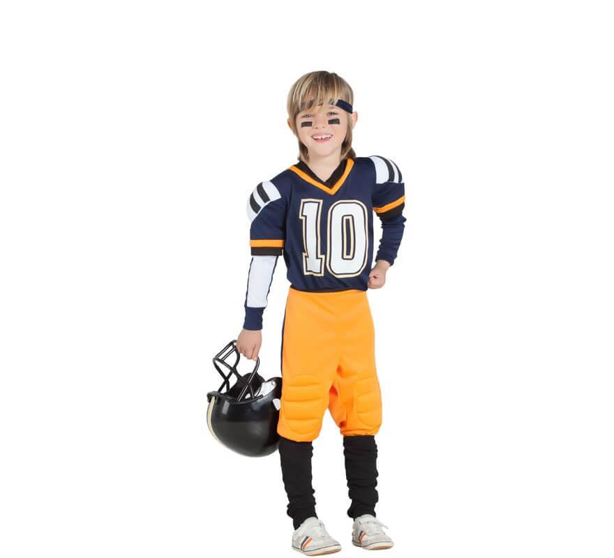 7a2e86c15 Disfraz de Jugador de Rugby para niño