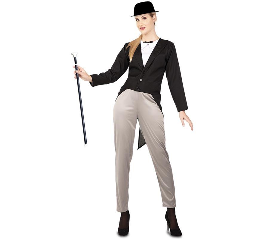 b8d4275487 Disfraz de La Flaca con traje para mujer