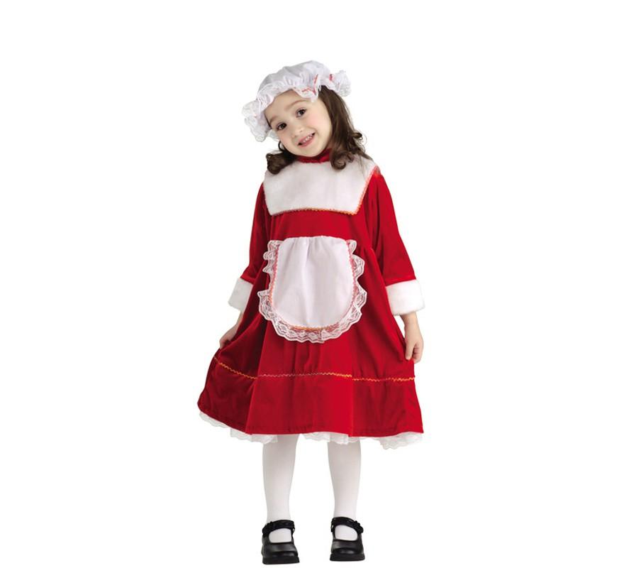 Disfraz de la hija de santa claus para beb - Disfraz de santa claus para nino ...