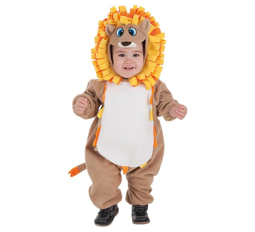 Disfraz de Leoncito divertido para bebé