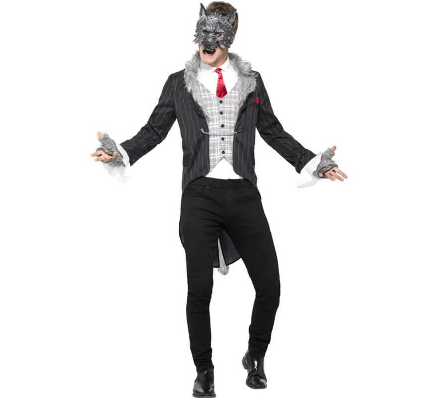 Disfraz de lobo feroz para hombre for Disfraz de lobo feroz
