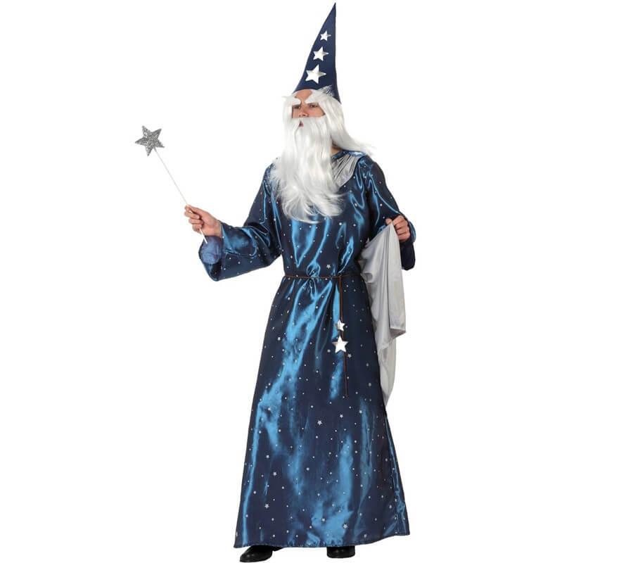 1445f3260 Disfraz de Mago de Cuento para hombre