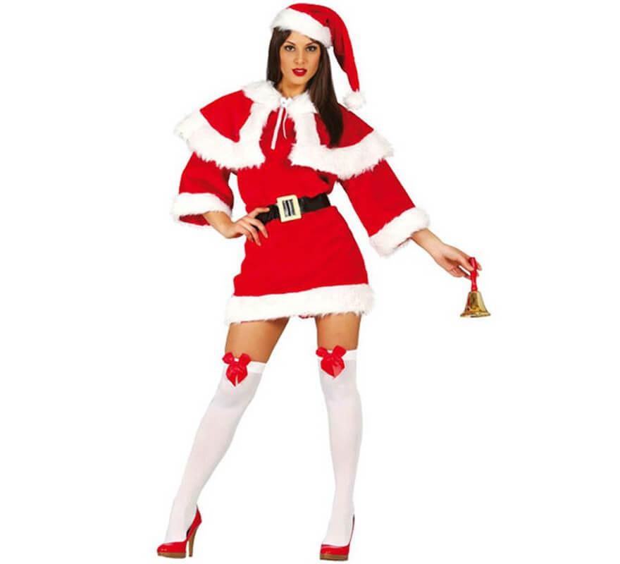 Disfraz de mam noel de lujo para mujer para navidad - Disfraz de navidad ...